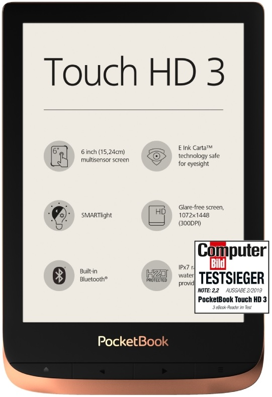 PocketBook Touch HD 3 voted best e-reader
